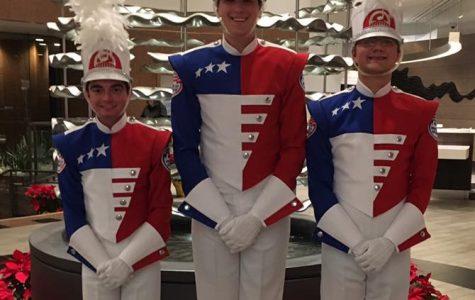 Reagan students play in Rose Bowl Parade