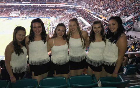 Reagan dancers perform in Orange Bowl halftime show