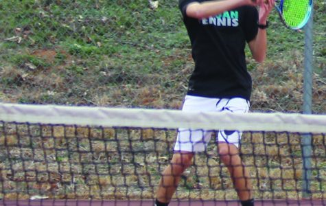 Men's tennis team is on the road to achieving their goals
