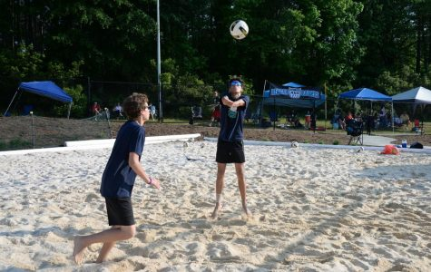 Sand volleyball succeeds despite youth