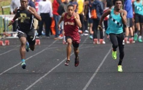 Reagan's track team: breaking school records