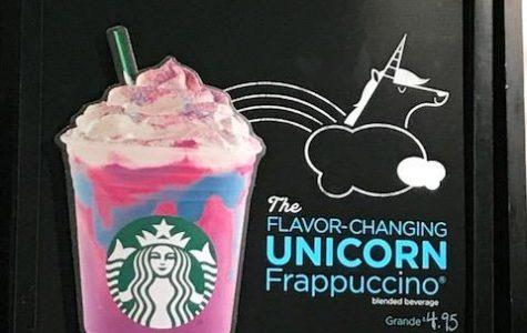Unicorn Frappuccino takes over Starbucks