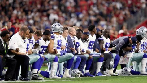 Taking a knee: controversy in the NFL