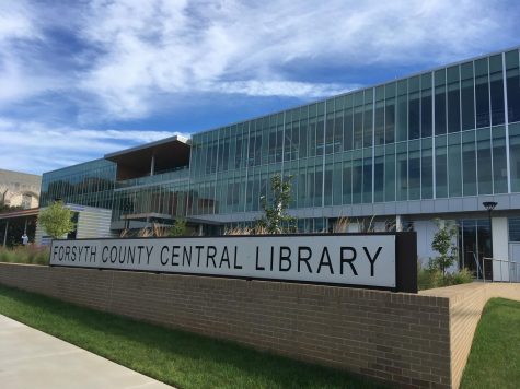 Forsyth County Public Library main branch upgrades facilities