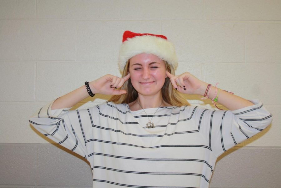 Junior Alicia Townsend cringes at the worst holiday songs. All I want for Christmas was voted first.