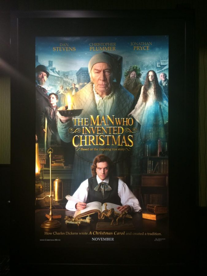 The Man Who Invented Christmas Poster.The Man Who Invented Christmas A Christmas Miracle The