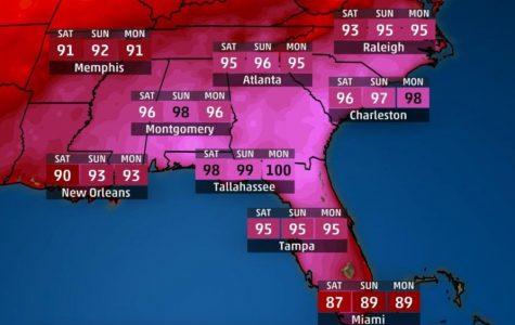 Heat Wave Fries Eastern United States