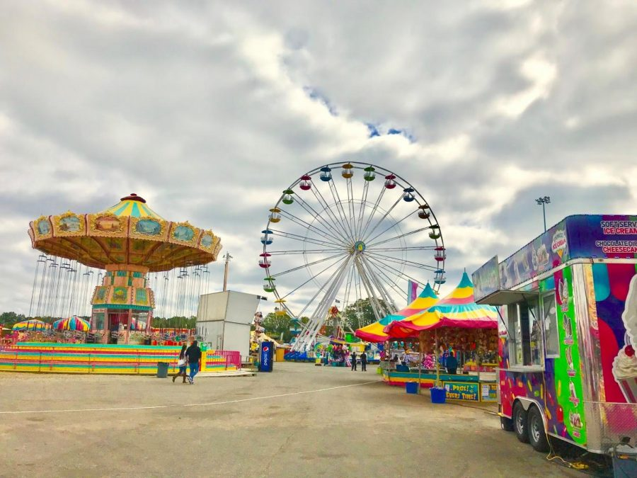 Many residents of Winston-Salem enjoy the fair, especially the large assortment of rides. The Dixie Classic Fair was in town from Oct. 4-13.