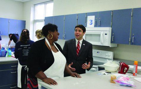 State Superintendent visits Reagan