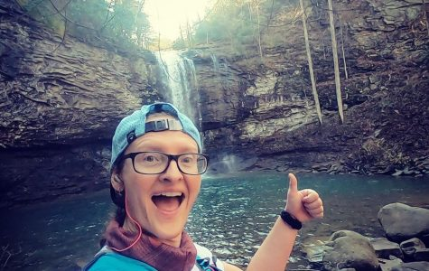 Pearson loves to run in her free time. She took this picture during the Cloudland Canyon 50k.