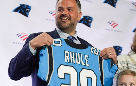 Matt Rhule introduced as Panther's new head coach