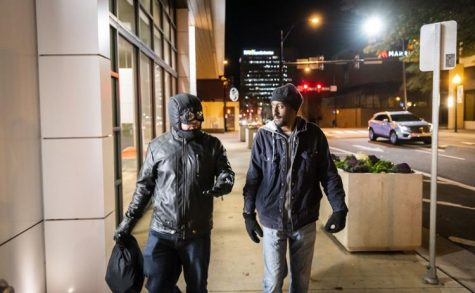 Masked vigilante works in Winston-Salem to help homeless in need