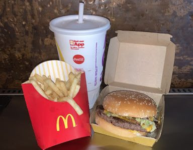 The Travis Scott Meal,  available at all McDonald' except those in Hawaii and Alaska until Oct. 4. The meal includes a burger, fries, and a Sprite.