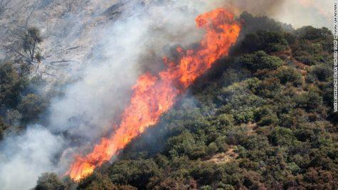 Image from CNN. The photo is the El Dorado Fire in the San Bernardino National Forest near Oak Glen, California
