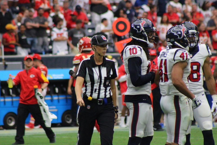 Thomas will be the first woman in history to officiate at the Super Bowl. The game will take place Feb. 7 in Tampa, Florida.