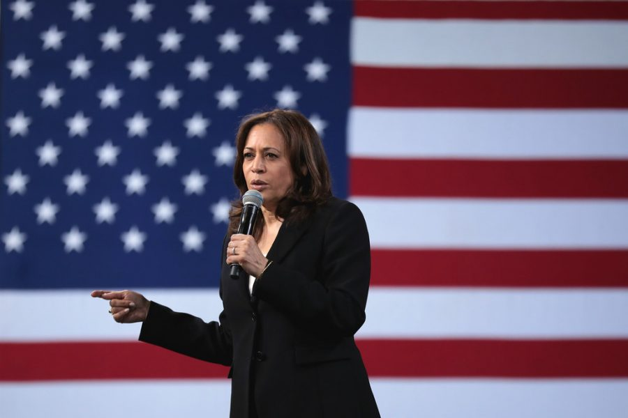 Kamala Harris was sworn into office with Joe Biden on Jan. 20. She is the first woman of color to be vice president in United States history.