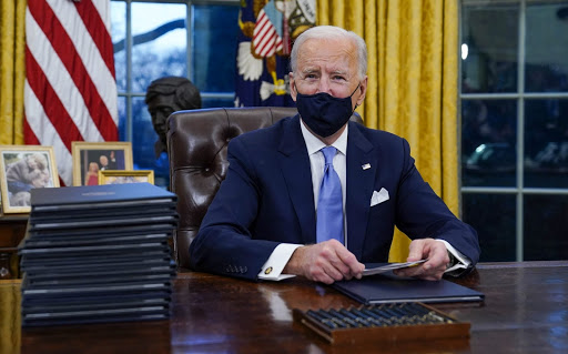 Biden's first day executive actions